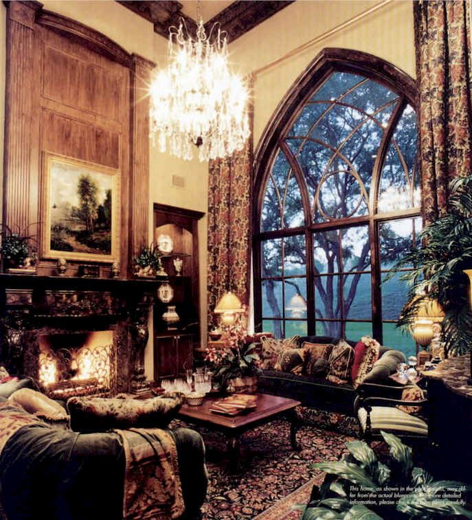 Gothic Style Living Room by www.snuut.com