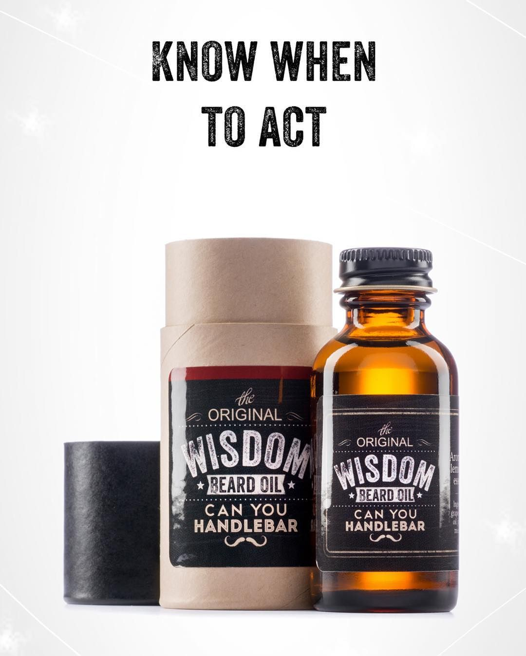 Our cedar and spruce scented Wisdom Beard Oil gives you the clarity needed so you can apply knowledge to real life. Tap the link in our bio to see more!  #WisdomBeardOil #BeWise #BeardCare #BeardOil #BeardStyle #MoustacheCare #Moustaches #CanYouHandlebar
