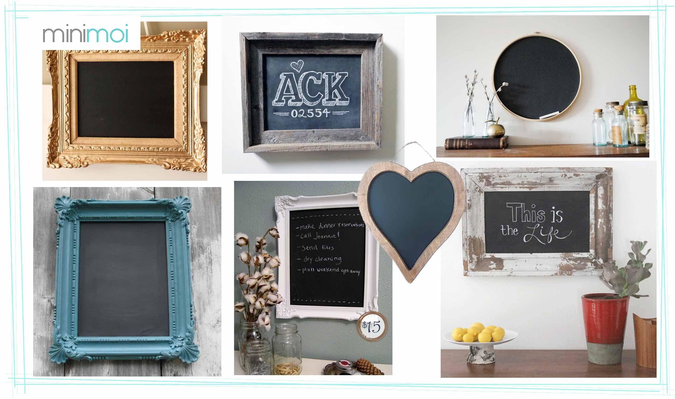 pizarra marco bonito Archivos - Minimoi | pintura tiza | Pinterest ...
