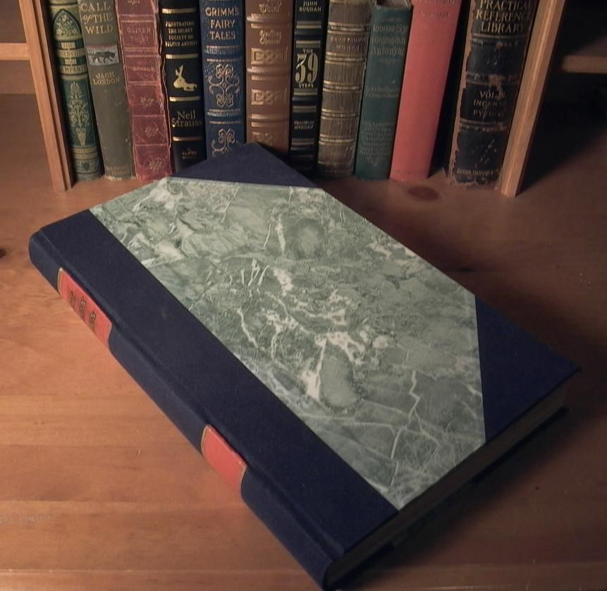Bookbinding: How To Make A Hardcover Book. Step By Step
