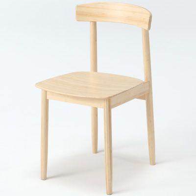 【中古】無印良品ブナ材木製食卓椅子布張りナチュラル良品計画ダイニング