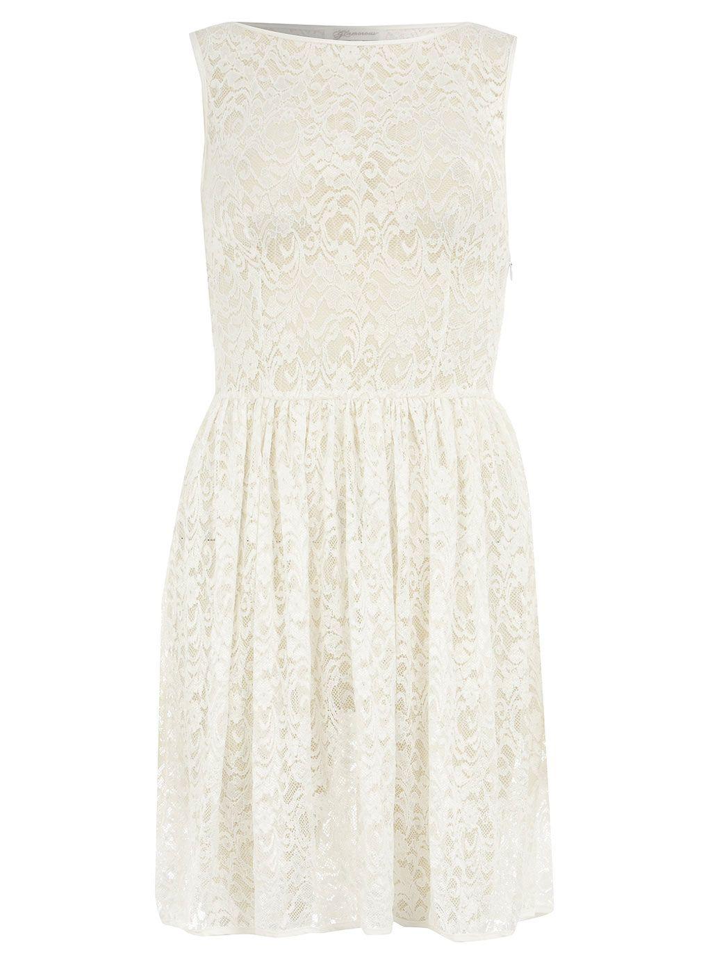 White Lace Overlay Dress Lace Dresses Dresses Dorothy Perkins United States White Overlay Dress Dresses Rehersal Dinner Dresses [ 1384 x 1019 Pixel ]