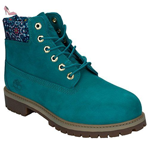 Boots 6 In Premium Wp Teal Blue Jr - Timberland gg8ICYJFvh