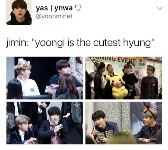 Aww yoongi your softness is showing