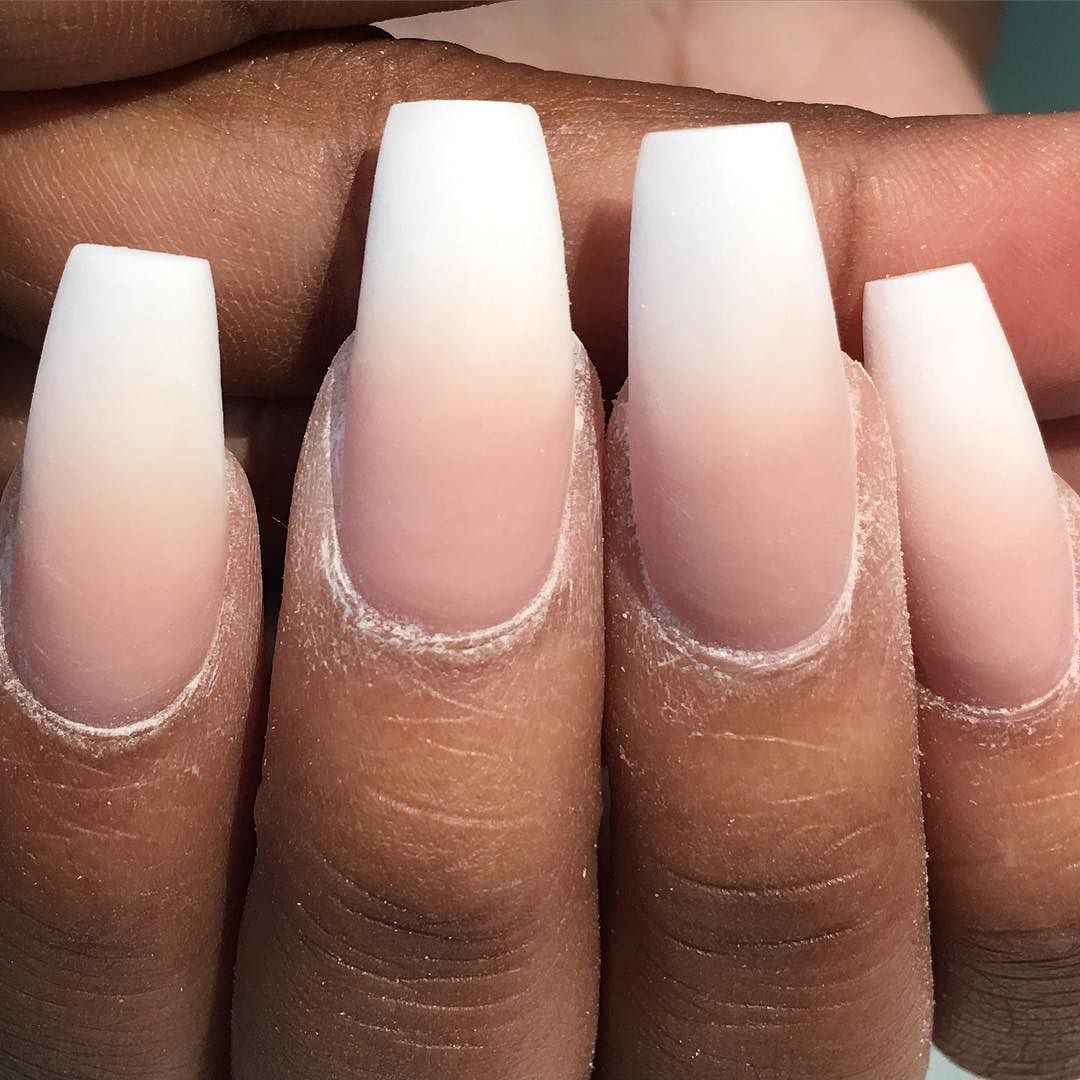 The process ombré nails I pairs a Snow White with my custom love the ...