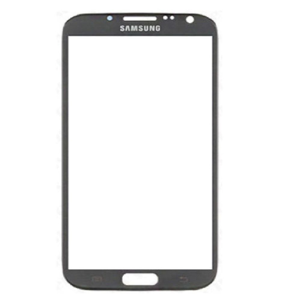 Samsung Galaxy Note 2 II Titanium grey outer glass N7100