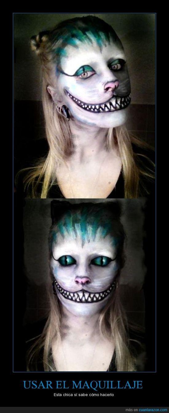 Cuánta razón! Era necesario plasmarlo en un cartel Halloween - halloween face paint ideas scary
