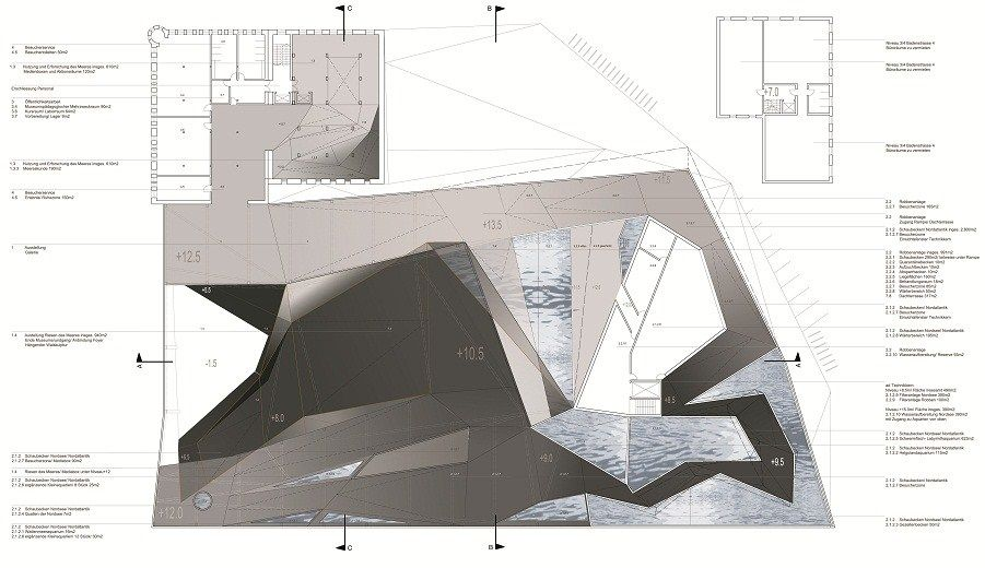 Plasma Studio - GERMAN OCEANOGRAPHIC MUSEUM  - Ground Floor Plan
