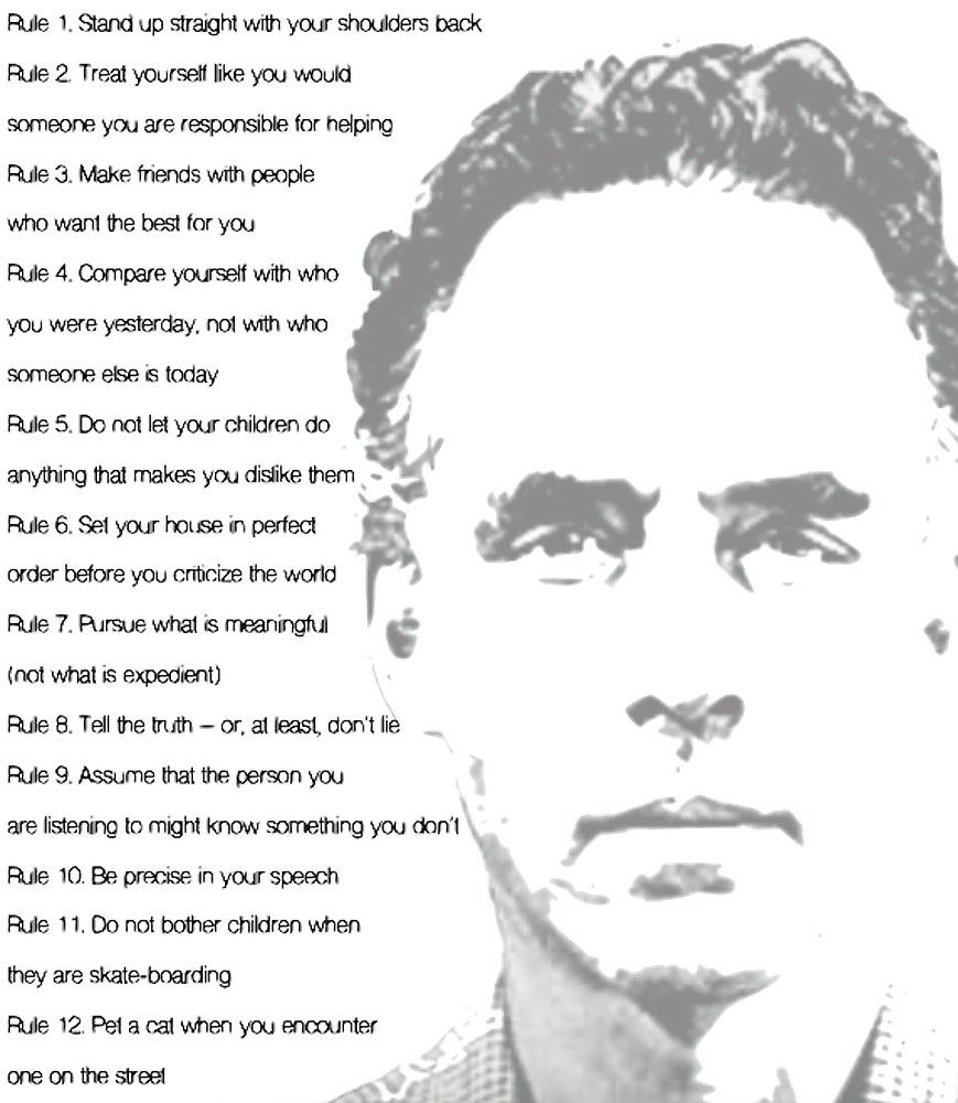 lose zavesti casnik jordan peterson 12 rules for life