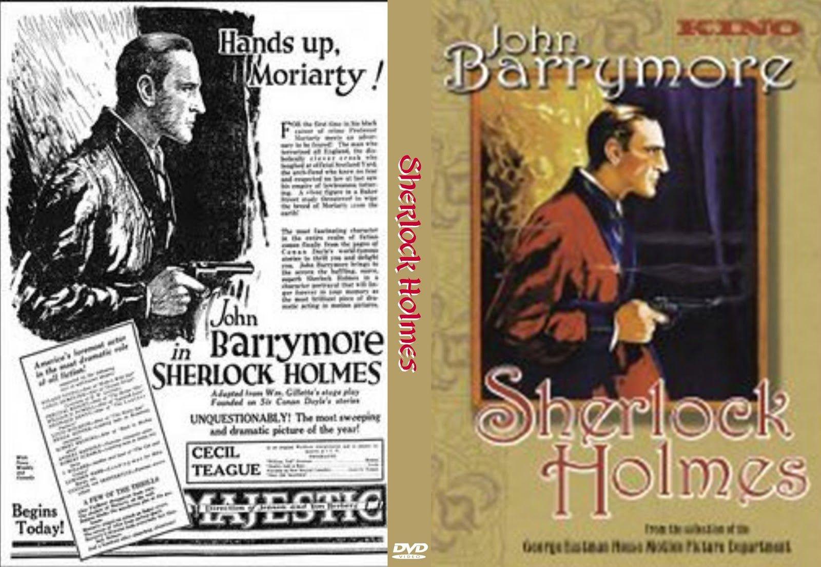 Sherlock Holmes 1922 Sherlock Holmes Moriarty Cover Caratula