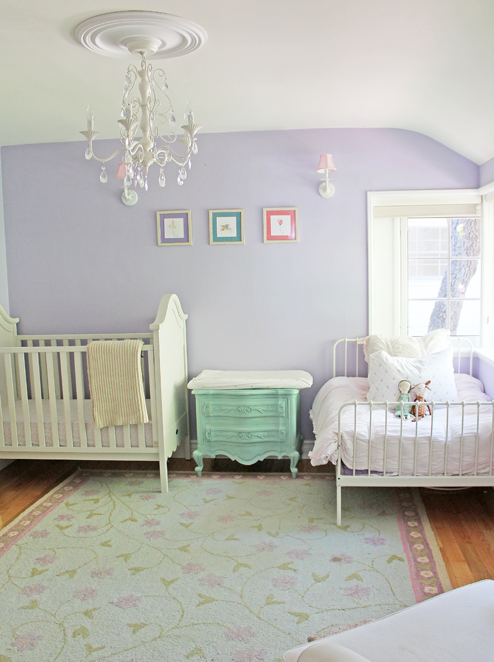 By Roopika Malhotra S Bedroom Nursery Featuring Benjamin Moore French Lilac