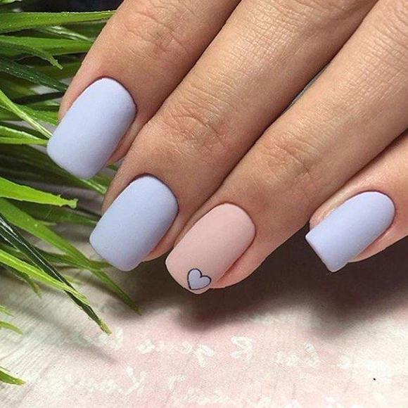 35 Simple And Easy Diy Nail Design Ideas 2020 Nail Style Simple And Easy Nails Nail Design Ideas Nail Art S In 2020 Simple Nails Light Nails Nail Designs Valentines