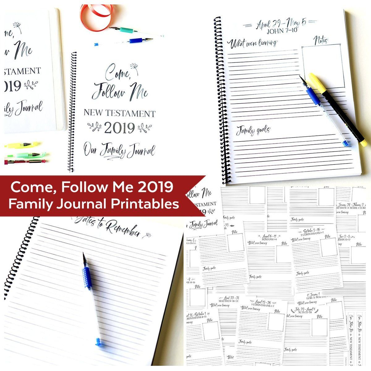Come Follow Me Family Journal