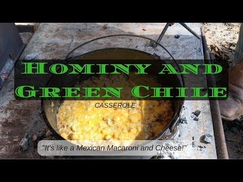 Lasso A Cowboy With This Hominy Casserole Recipe #hominycasserole