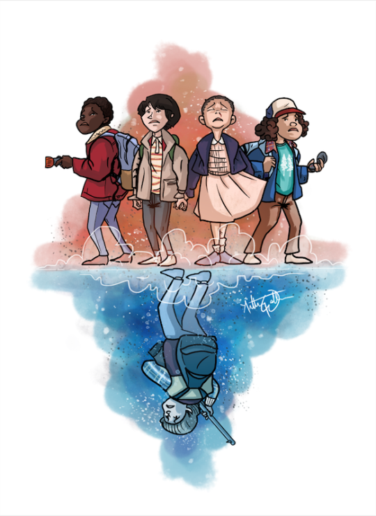 Fleas And Acrobats By Theanthonywallace On Tumblr Netflixmovies Fleas And Acrobats By T Lucas Stranger Things Stranger Things Fanart Stranger Things Quote
