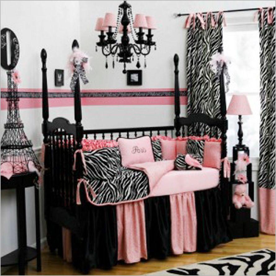 purple and black zebra bedroom ideas - bedroom