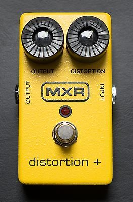 MXR M104 Distortion+ Plus Guitar Effects Pedal | Guitar
