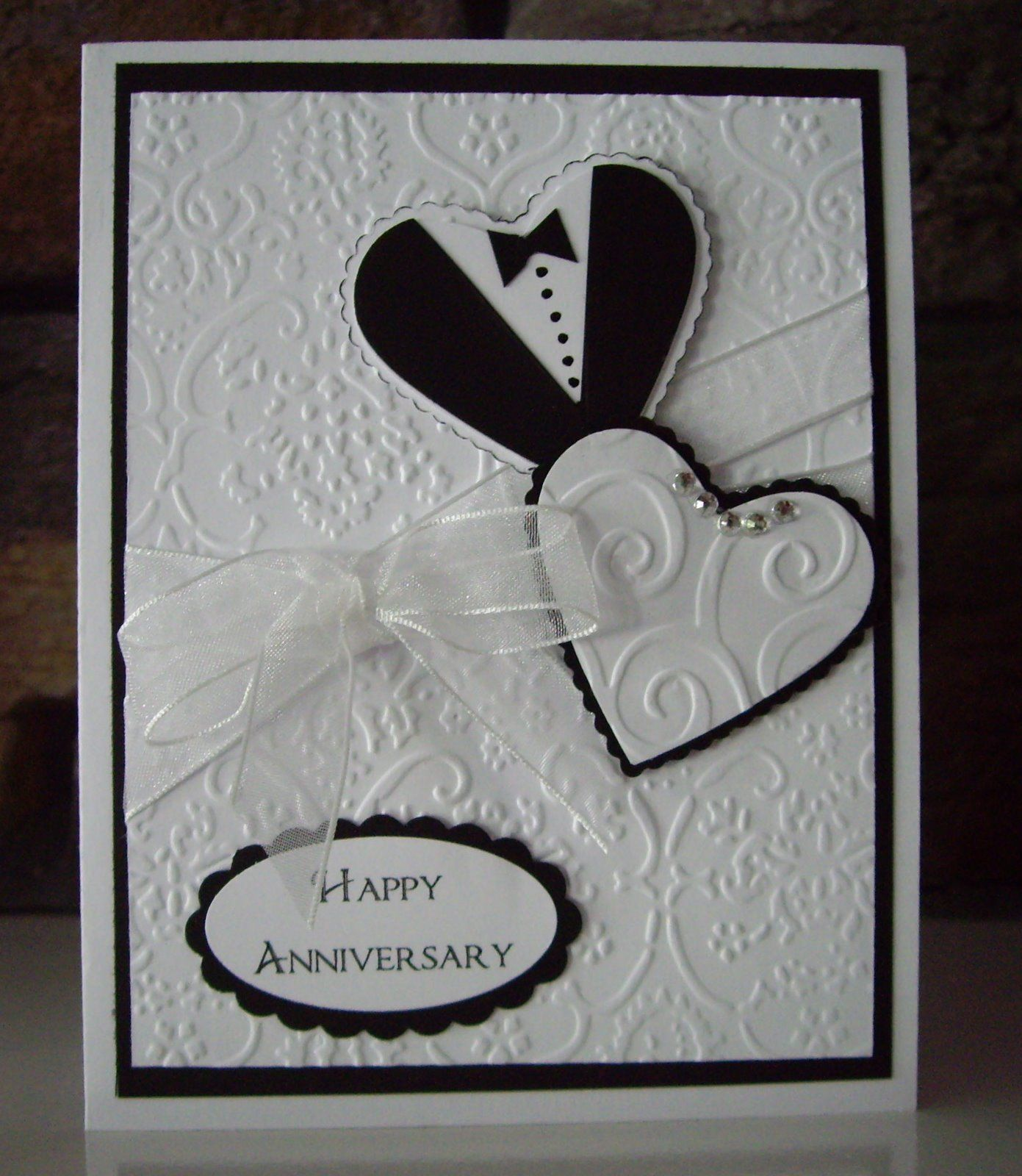 Brown Paper Packages Anniversary Cards Or Switch It Up To Make A Wedding Card