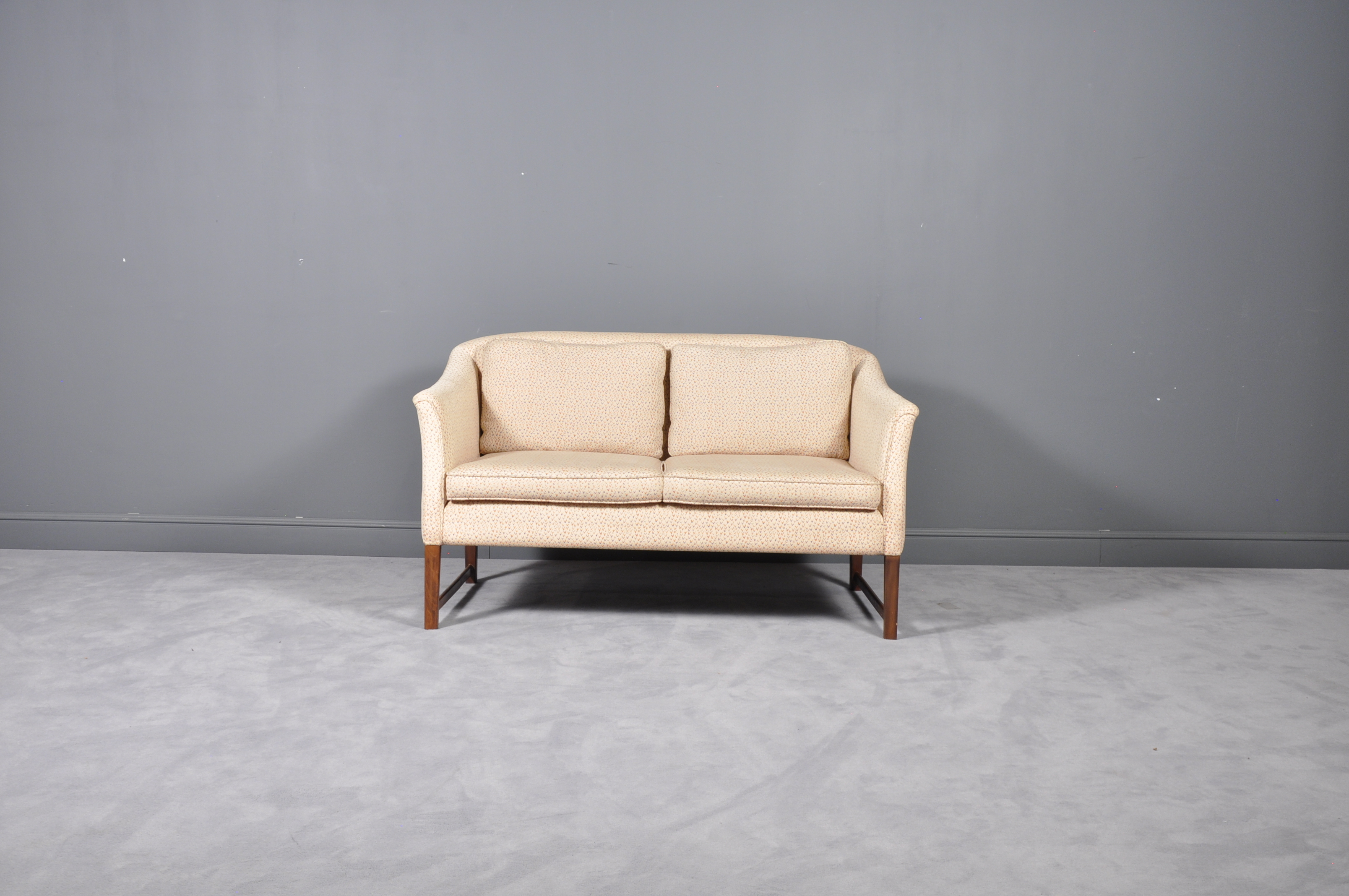 Dieter Knoll Collection Two Seater Sofa 1980s Retro Furniture