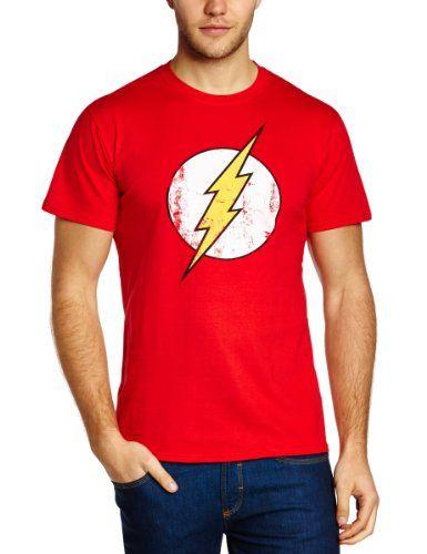 85ed49fbe60 DC Comics - Camiseta de Flash con cuello redondo de manga corta para hombre  #camiseta #realidadaumentada #ideas #regalo