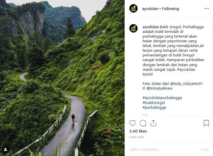 Terbaru 30 Pemandangan Bukit Yang Sangat Indah Jelajahi Bukit Siregol Purbalingga Ada Air Terjun Yang Download Nikmati Peman Di 2020 Pemandangan Hutan Air Terjun