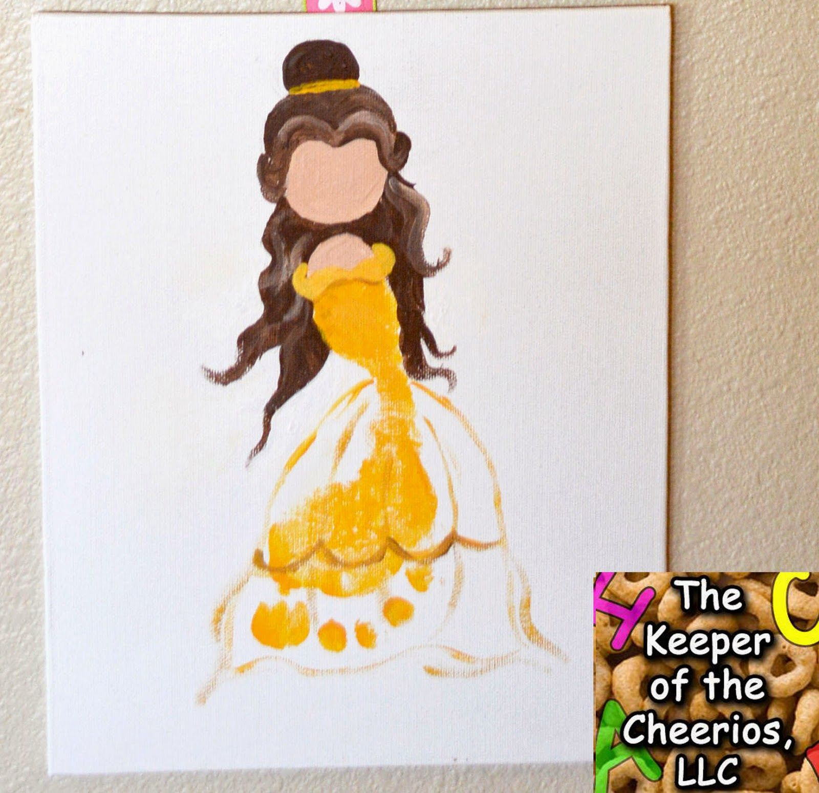The Keeper of the Cheerios: Princess Footprints 2