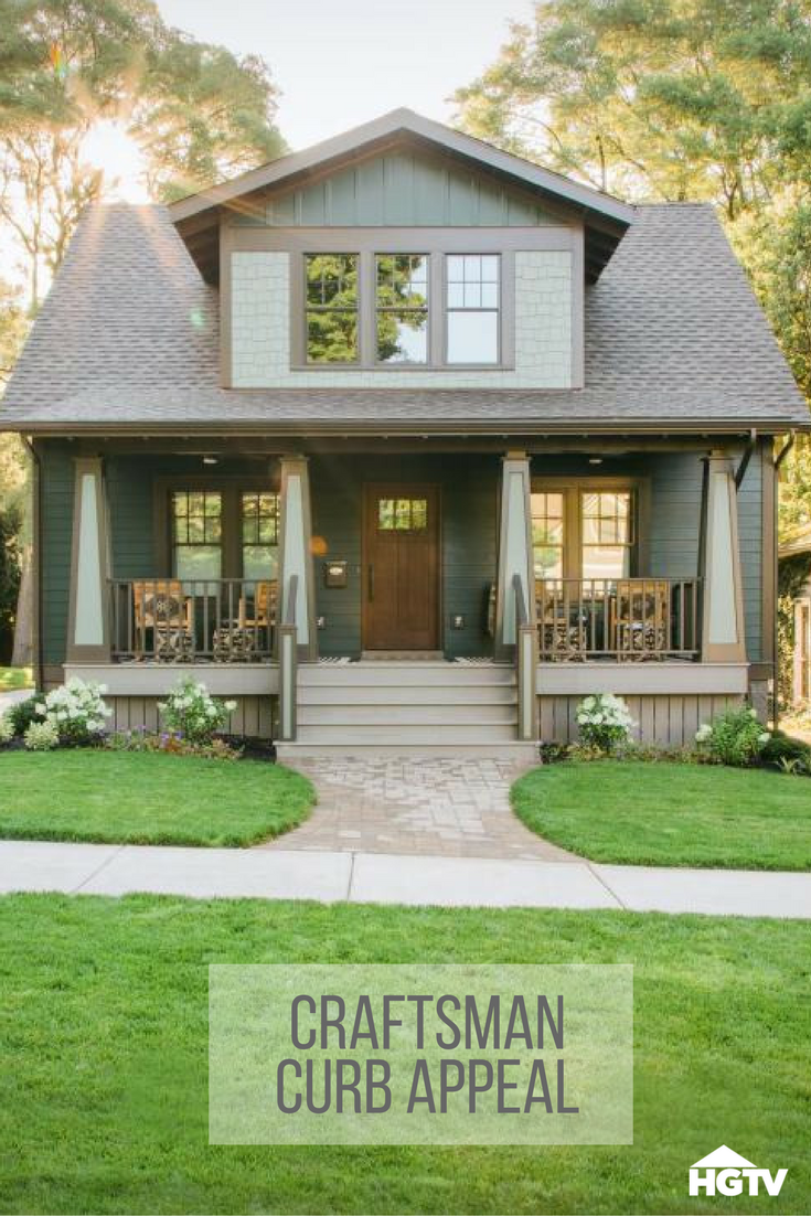 Exterior Pictures From HGTV Urban Oasis 2016 #craftsmanstylehomes