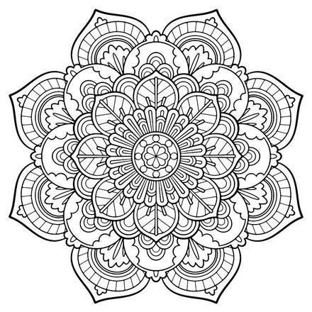 adult coloring pages 9 free online coloring books printables - Mandala Coloring Books For Adults