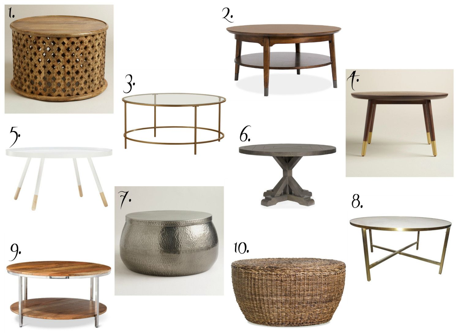 2019 Woven Round Coffee Table Cool Rustic Furniture Check More At Http