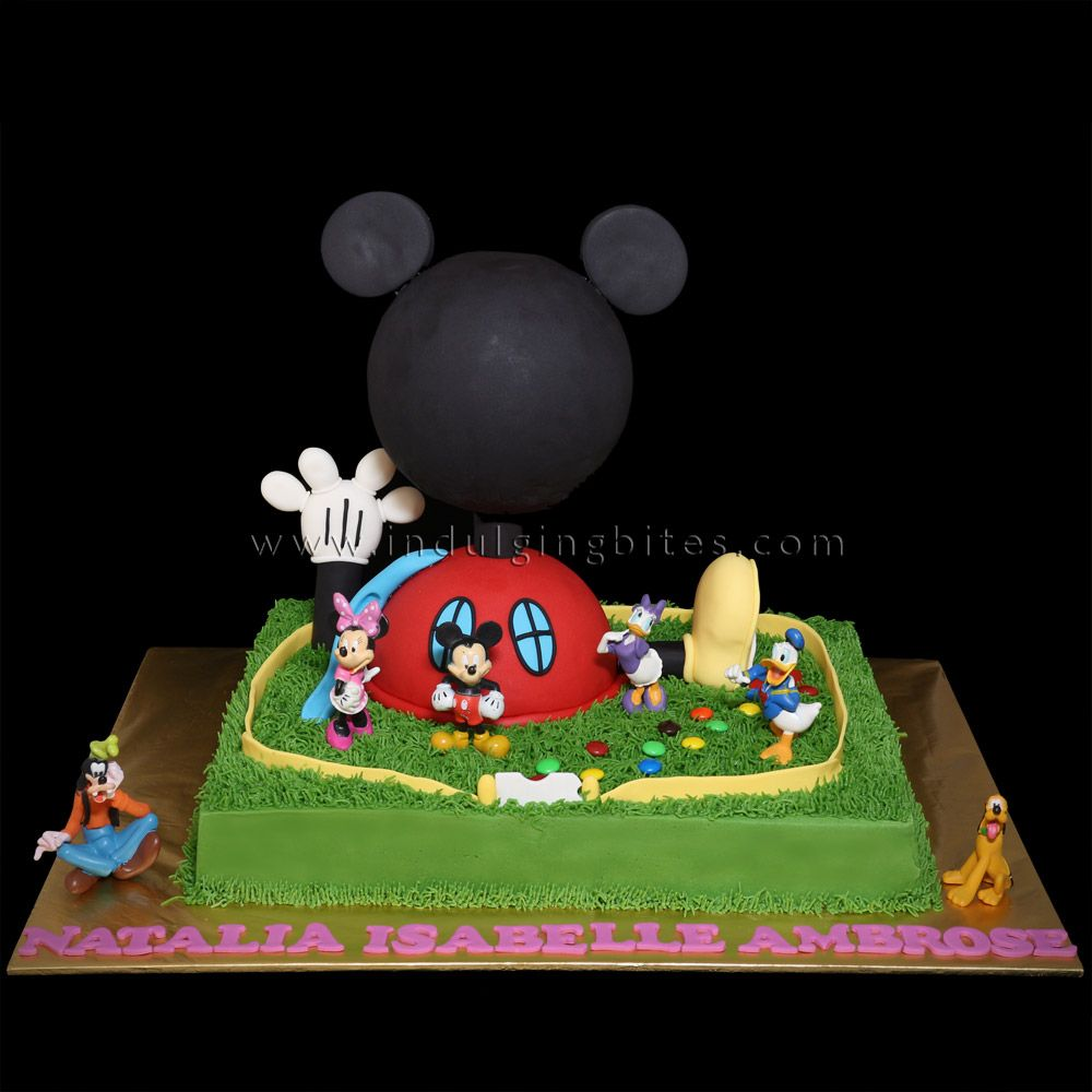 Mickey Mouse Clubhouse Butter Cream Cake Cake Designs I Ve