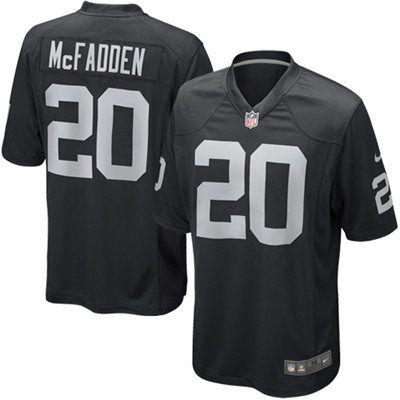 Darren McFadden Oakland Raiders Nike Team Color Game Jersey ...