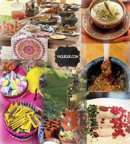Decoracion para fiestas mexicana google search 20 de for Decoracion de comida
