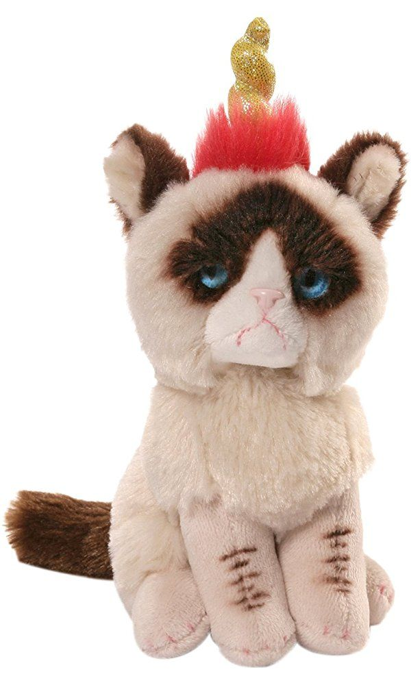 066e892a2f6 Gund Grumpy Cat Unicorn Beanbag Stuffed Animal Plush Best Price ...