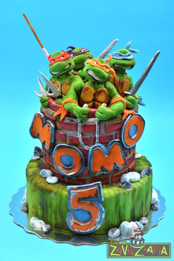 Teenage Mutant Ninja Turtles Cake Cake By Nasa Mala Zavrzlama