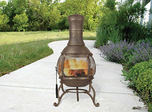 Nice Top 10 Best Fire Chimineas Top Reviews Fire Pit Chimney Fire Pit Backyard Chiminea Fire Pit