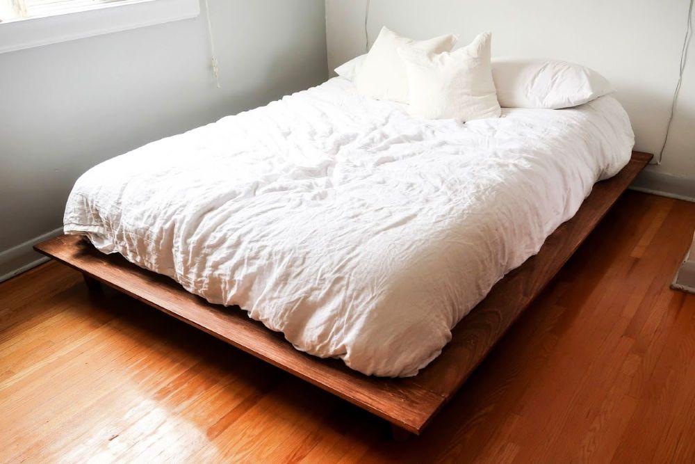 30 Free DIY Platform Bed Plans To Make Your Own Bed Frame -   diy Bed Frame platform