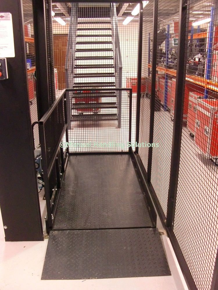 Through Floor Mezzanine Goods Lift 200kg. For a quotation