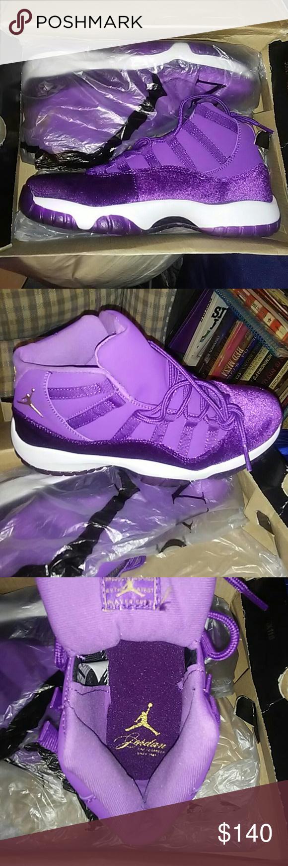 1f9b48a75284a7 Jordan 11 s Grape Velvet Purple Velvet