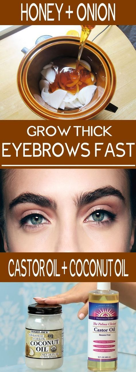 How To Grow Thicker Eyebrows Best Home Remedies   Grow ...