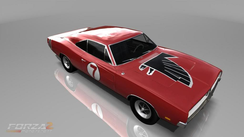 Do Any Falcon Fans Own A Classic Car Painted In Falcon Colors ...