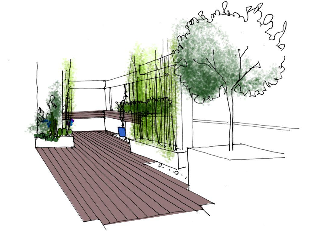 Comenzamos un nuevo jardin paisajismo jardines dise o dibujos croquis y planos de jardines - Paisajismo diseno de jardines ...