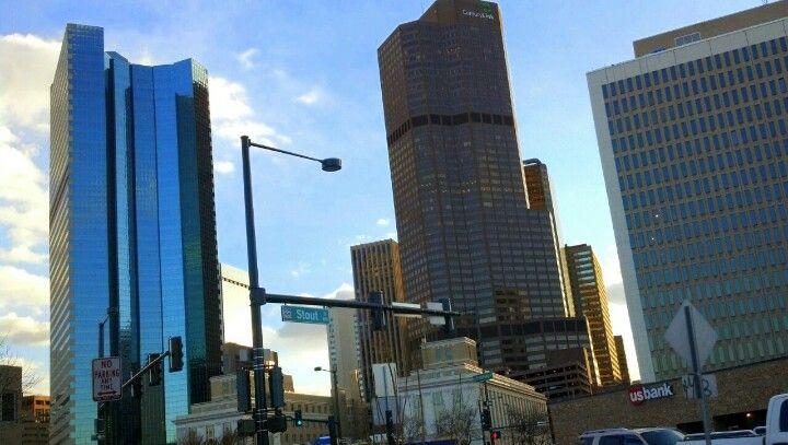 Downtown denver denver colorado with
