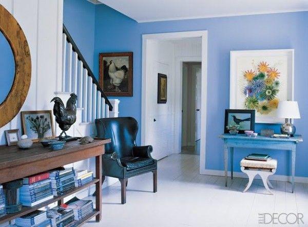 Casas azul turquesa