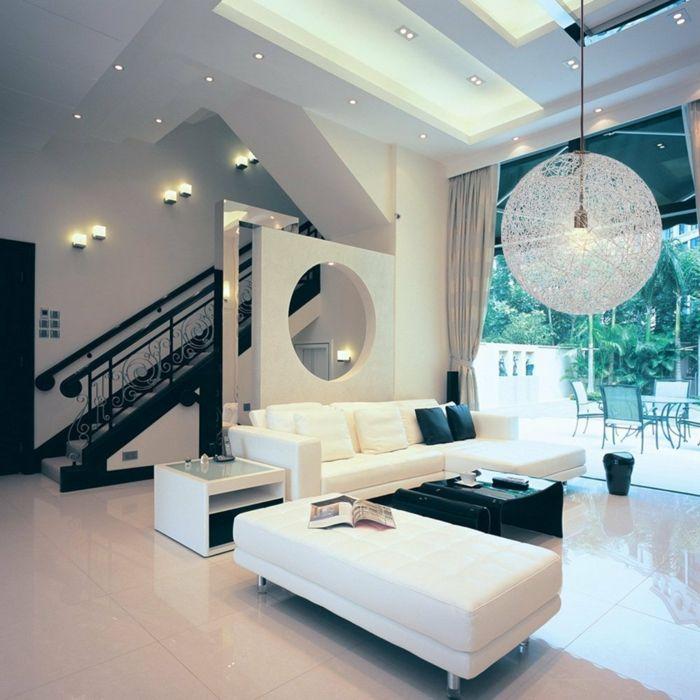 Deckenbeleuchtung Wohnzimmer - Sollten es Decken-, Einbau- oder - wohnzimmer pendelleuchte modern