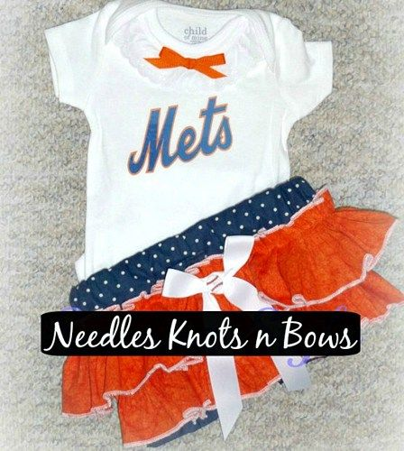 various colors 6ae46 35146 Girls New York Mets Outfit, Baseball Outfits, Mets, MLB ...