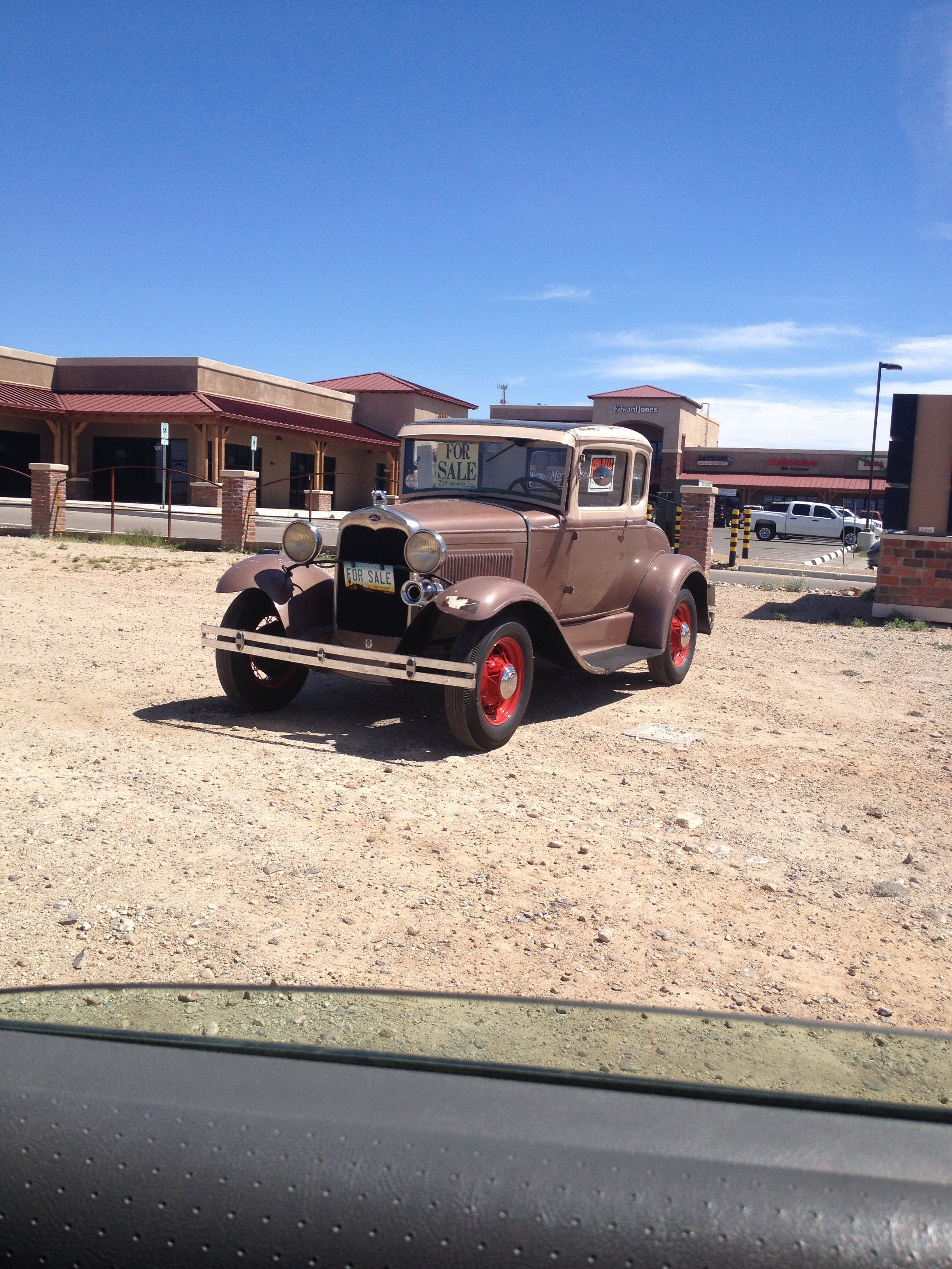 Copper colored car we saw for sale by Dairy Queen in Vail, AZ ...