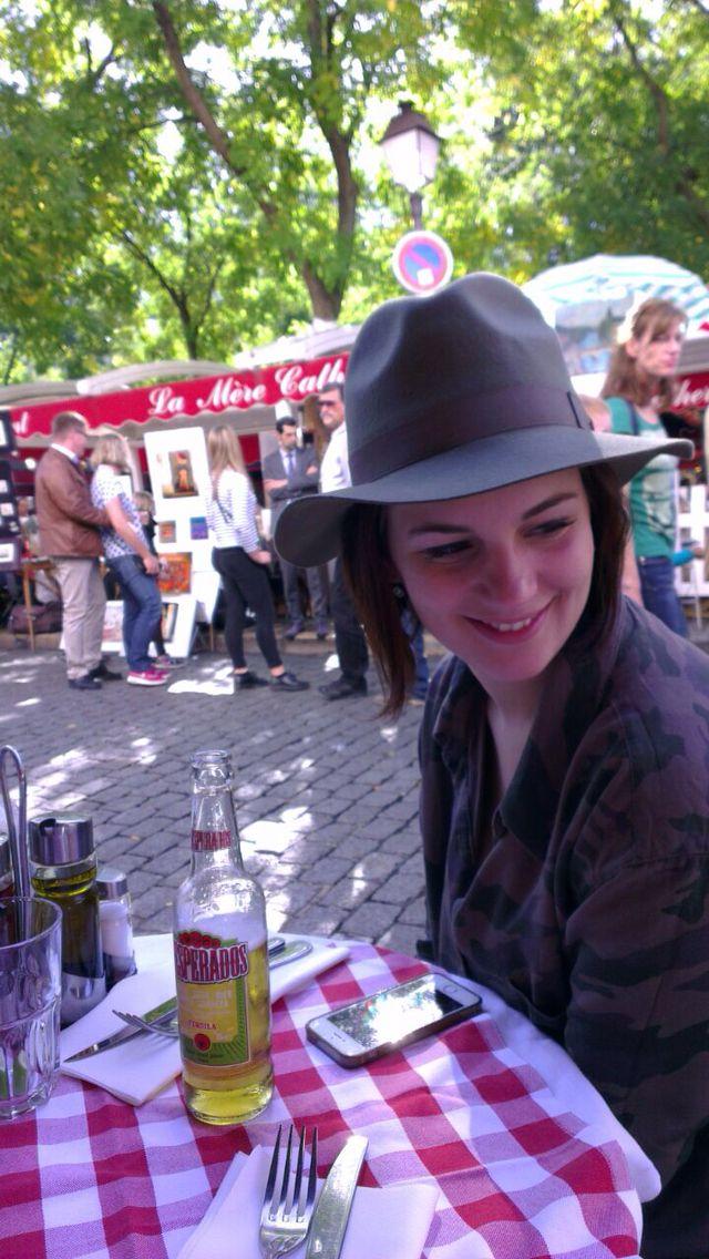 Just loving Paris #hat #sun #fun