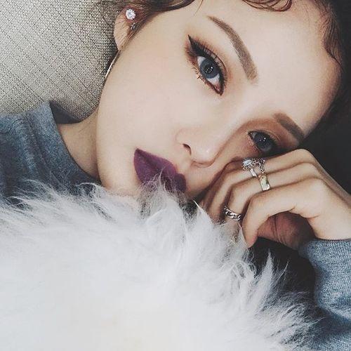 makeup, pony, and girl image