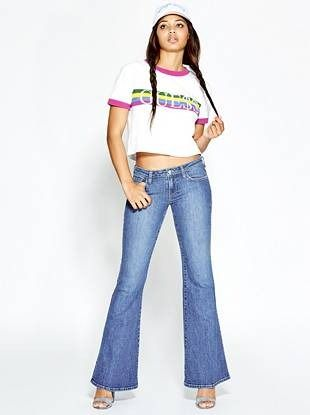Low-Rise Bell Bottom Jeans | shop.GUESS.com | GUESS / Originals ...