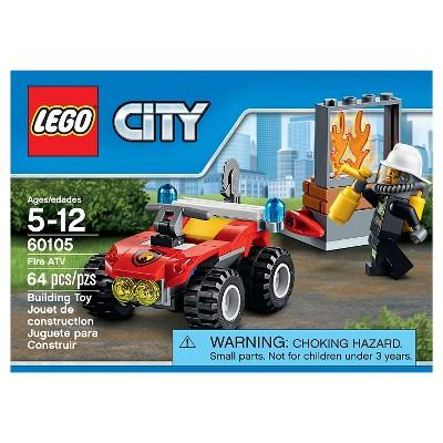 Lego City Fire Atv 60105 Building Set Lego City Atv And Products